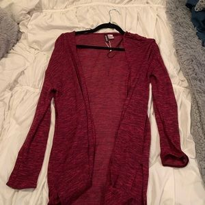 Divided cardigan size medium